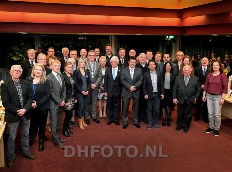 De vers geïnstalleerd gemeenteraad van Den Helder